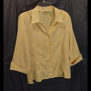 Apparenzo button up blouse size XL